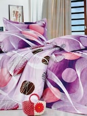 Multi-coloured Double Bedsheet With Two Pillow Cover -  Frábær - 937618