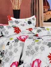 Multi-coloured Double Bedsheet With Two Pillow Cover -  Frábær - 937620