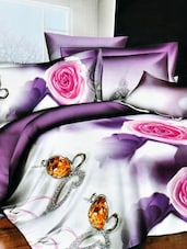 Multi-coloured Double Bedsheet With Two Pillow Cover -  Frábær - 937626