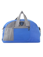 Royal Blue And Grey Duffle Bag - PRESIDENT