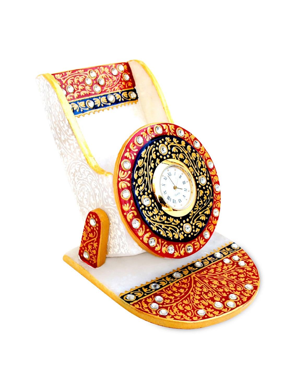 kundan work mobile holder