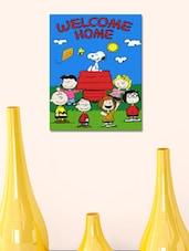 Welcome Home Cartoon  Wall Sticker - 999store