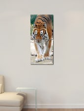 Printed Tiger Wall Art Painting -2 Pieces - 999store
