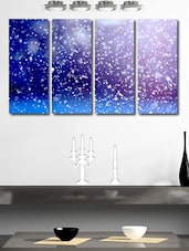 Water Drops Wall Art Painting  - 4 Pieces - 999store