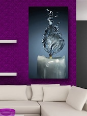 Water Candle Modern Wall Art Painting - 999store