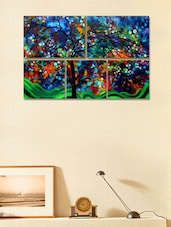 Colourful Tree Modern Wall Art Painting - 999store