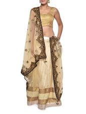 Luxe Gold Bridal Lehenga Set - Aggarwal Sarees