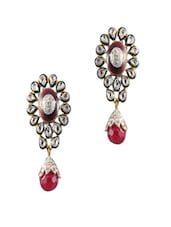 Red For Love Earrings - Swanvi
