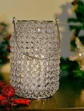 Crystal Candle And Votive Holder - The Yellow Door