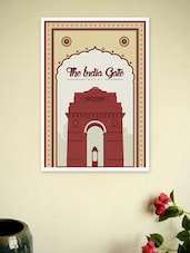 The India Gate Wall Decor Poster - Lab No. 4 - The Quotography Department