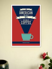 American Proverb For Coffee Shop Wall Décor Poster - Lab No. 4 - The Quotography Department