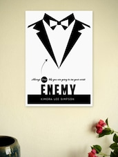 Men's Wear Fashion Boutique Store  Wall Decor Poster - Lab No. 4 - The Quotography Department