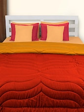 Red And Yellow Double Comforter - HOUSE THIS