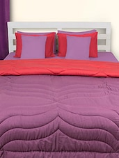 Purple And Pink Double Comforter - HOUSE THIS