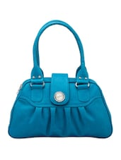 Solid Blue Hand Bag - Voylla