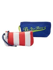 Red And Blue Pack Of 2 Wrislet Combo - Be... For Bag