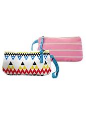 Multi-coloured Pack Of 2 Wrislet Combo - Be... For Bag - 951174