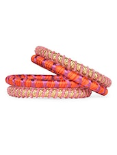Colourful Bracelet Set (Set Of 4) - RIGO