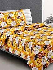 100 % Cotton  Single Bed Sheet With  Pillow Cover - Desi Connection