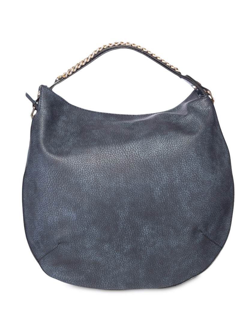 Buy Chain Embellished Navy Blue Leatherette Hobo Bag by Elespry - Online  shopping for Handbags in India  422ac7256cd96