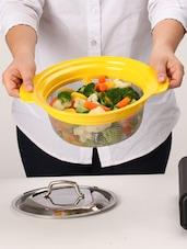 Yellow Multi-purpose Kitchen Strainer - Doble