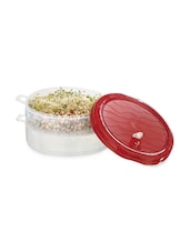 Junior Sprout Maker Container With Red Cover - Prime Housewares