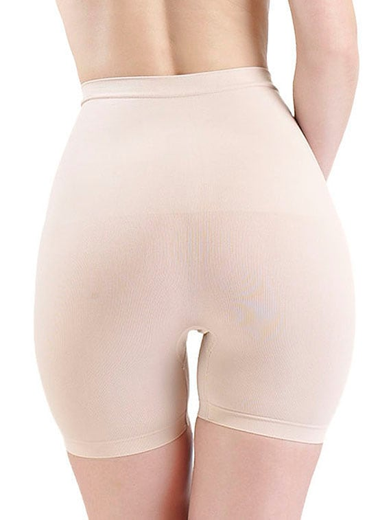 c44da632c2954 Buy Cream Low Waist And Short Thigh Shaper by Swee - Online shopping for  Shapewear in India