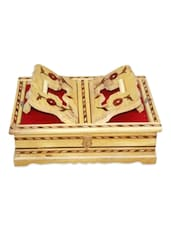 WOODEN HAND CARVED HOLY BOOK STAND AND BOX FOR QURAN,BIBLE,GITA,VED ,GURU GRANTH SAHIB - Onlineshoppee