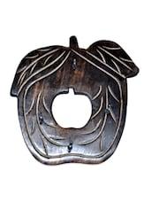 Wooden Antique Apple Shape Key Holder - Onlineshoppee