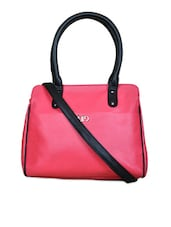 Pink Hand Bag Cum Sling Bag - Bagsy Malone