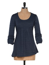 Navy Blue Top - Colors Couture