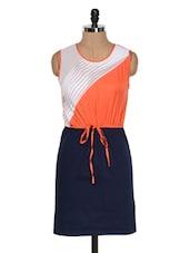 Navy Blue Dress - Colors Couture