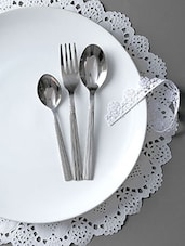 Stainless Steel Cutlery Set Of 18 - By