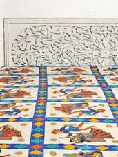 Jaipuri Traditional Print Single Bed Sheet - Silkworm