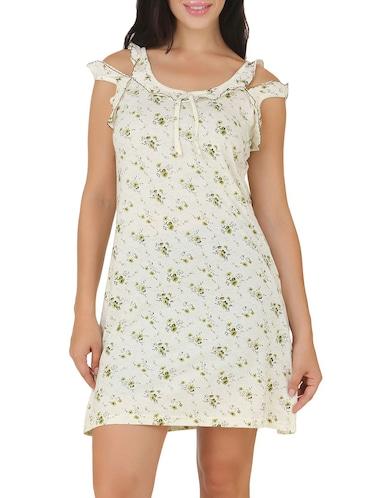 Buy Green Satin Plain Sleeveless Nighty by Clovia - Online shopping ... 17d7146cd