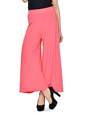 So Spacious Pink Palazzo Pants - By