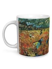 The Red Vineyard Vincent Van Gogh Mug - Seven Rays