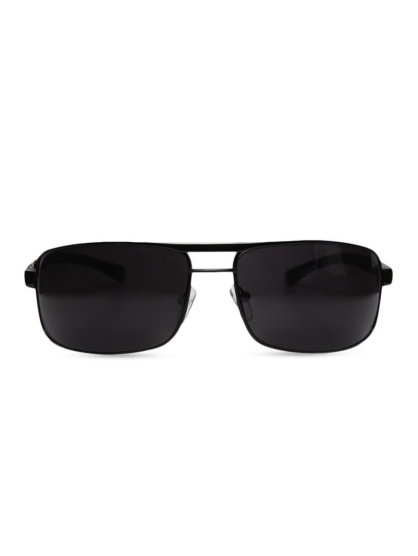 dabb20b7f61 Buy Black Metallic Square Shaped Sunglasses by Mayhem - Online shopping for  Sunglasses in India