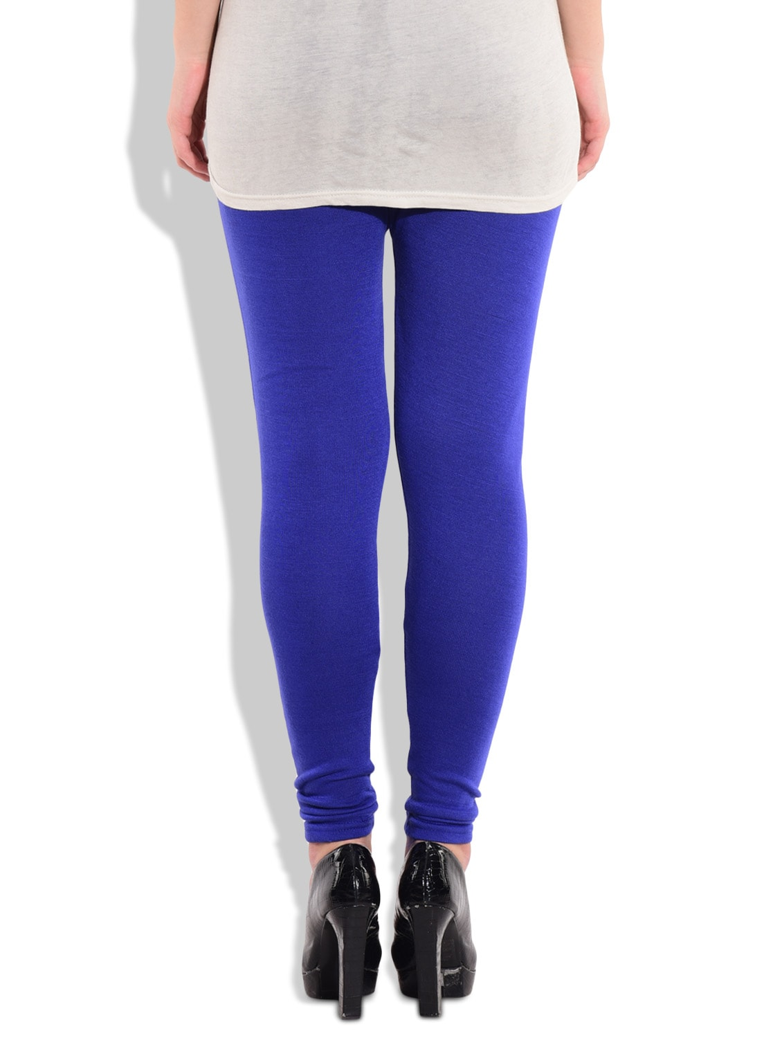 eebeec2b37 Buy Royal Blue Body Fit Full Length Cotton Laycra Leggings for Women from  Carnival for ₹595 at 15% off | 2019 Limeroad.com