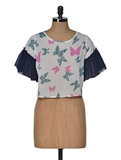 Butterfly Loose Fitted Top - Popnetic