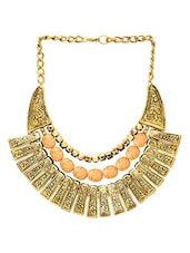 The Egyptian Metal Alloy Necklace - By