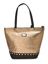 Multi Color Faux Leather  Hand Bag - By