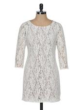 Lace Shift Dress - KARYN