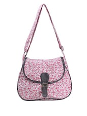Cute Floral Print Everyday Sling Bag - Art Forte