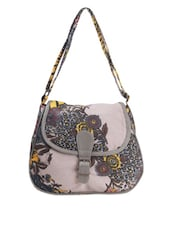 Floral Printed Casual Sling Bag - Art Forte