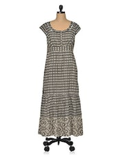 European Cotton Printed Dress - Oxolloxo