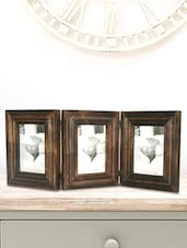 3 Fold Frame In Solid Wood - Inspired Livingg