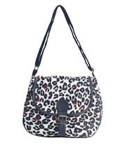 Animal Printed Cotton Sling Bag - Art Forte