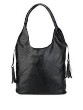Chic Black Leatherette Bag - Bags Craze