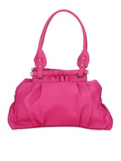 Bright Pink Hand-held Bag - By